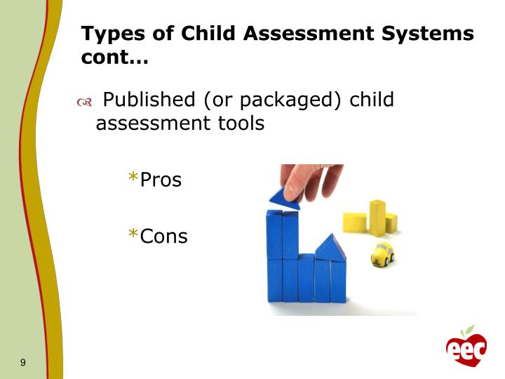early childhood assessments how we use Including assessment formats that are appropriate for use in culturally and linguistically diverse communities, based on model elements of school readiness the principles and recommendations in this document are the result of efforts by the goal 1 early childhood assessments resource group to address this charge.