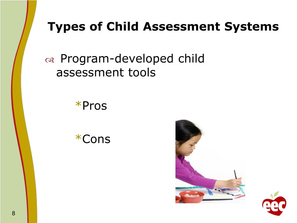 Types of Child Assessment Systems