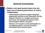 general conclusions14
