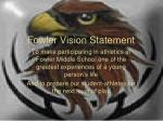 fowler vision statement