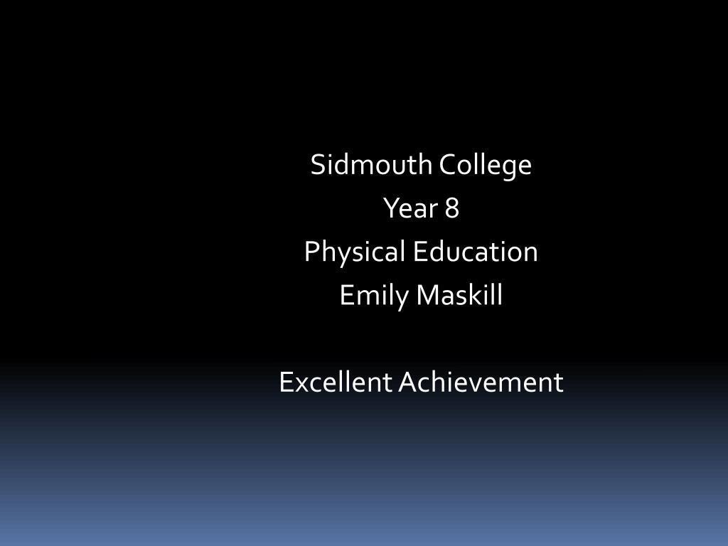 Sidmouth College