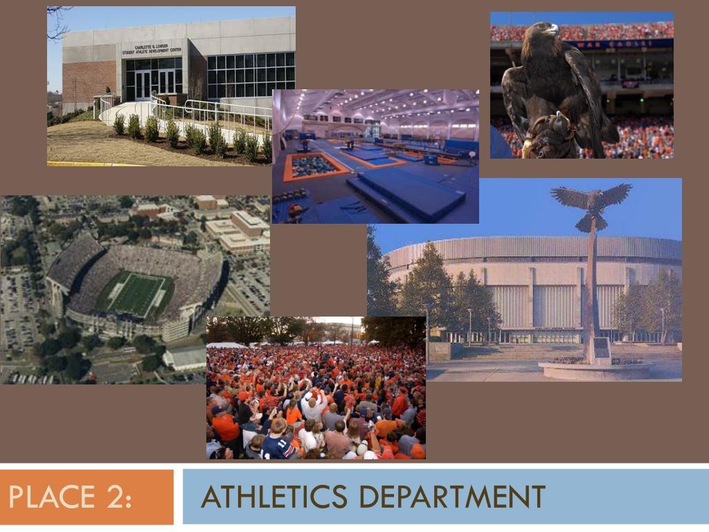 place 2 athletics department l.