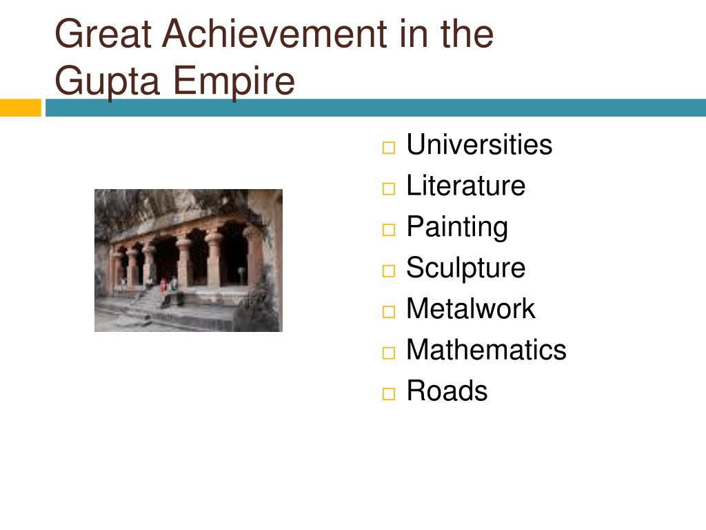 PPT - The Achievements of the Gupta Empire PowerPoint ...