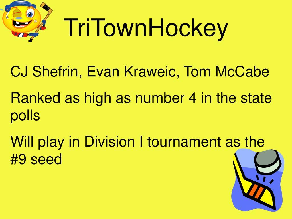 TriTownHockey