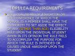 dpi lea requirements24