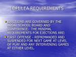 dpi lea requirements27