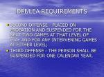 dpi lea requirements28
