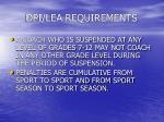 dpi lea requirements29