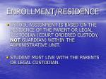 enrollment residence10