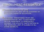 enrollment residence12