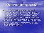 ncdpi lea regulations22