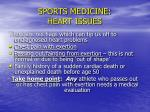 sports medicine heart issues38