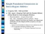 knight foundation commission on intercollegiate athletics5