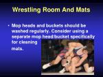 wrestling room and mats53