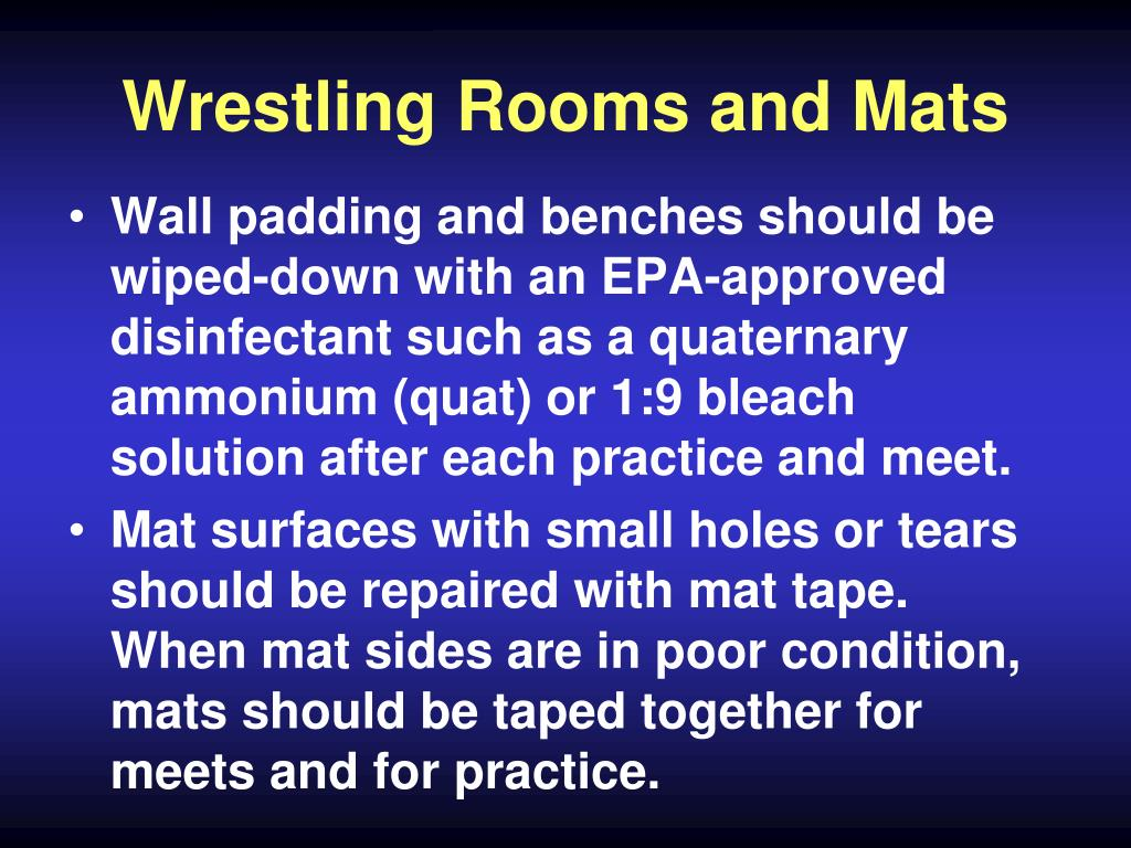 Wrestling Rooms and Mats