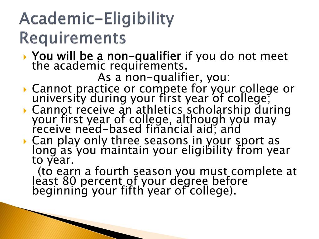 Academic-Eligibility