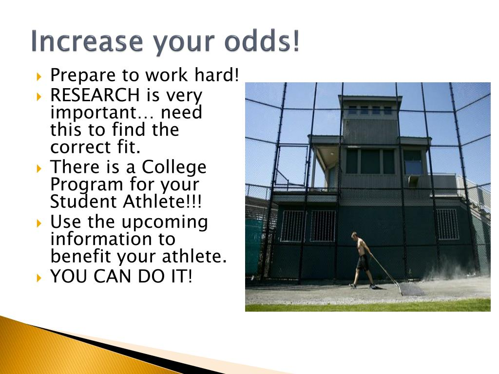 Increase your odds!