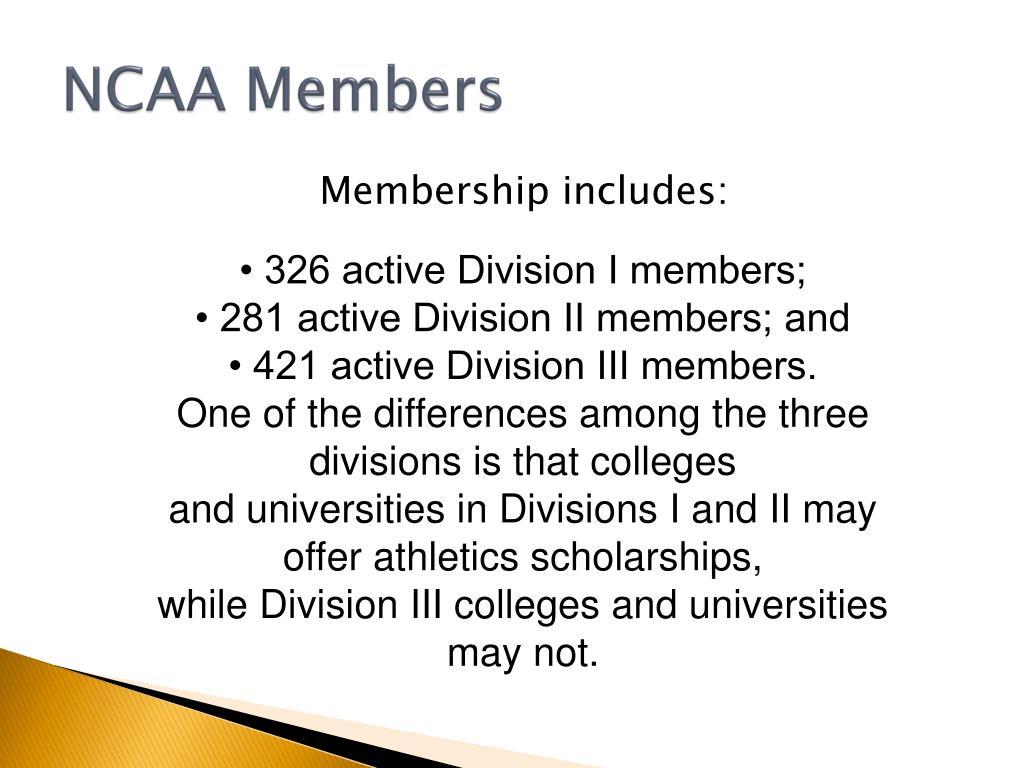NCAA Members