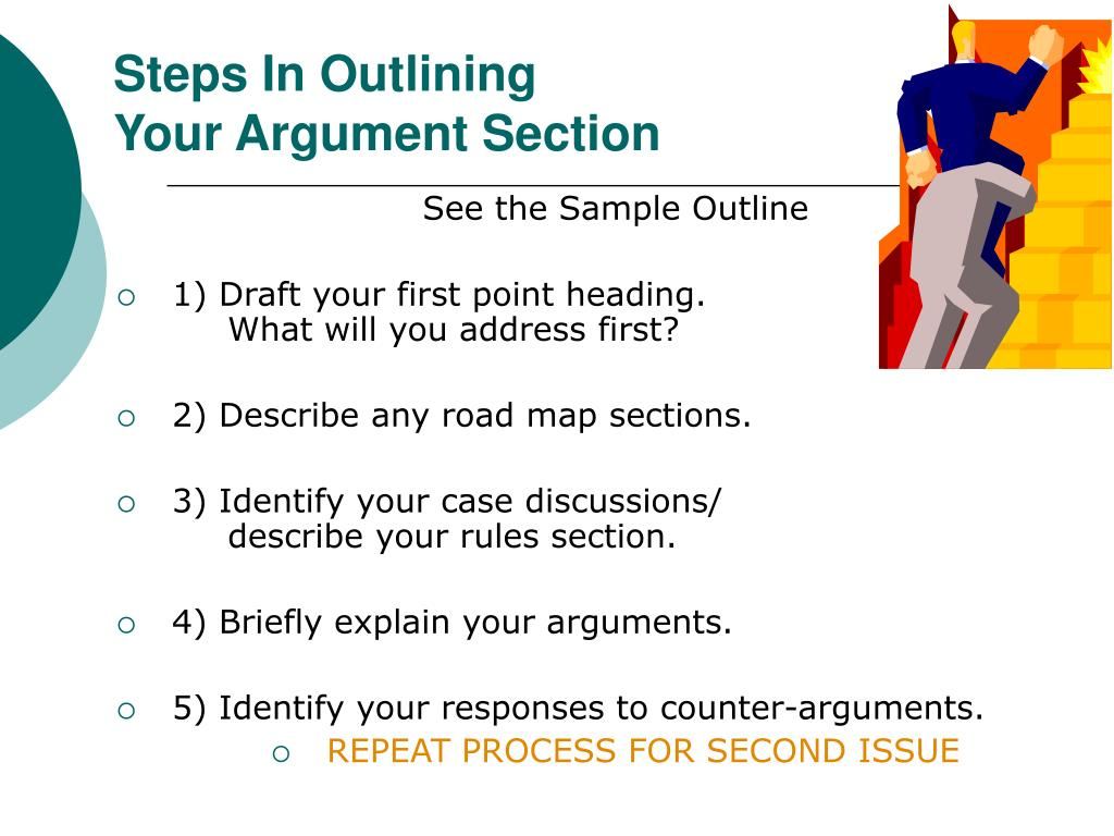 Steps In Outlining