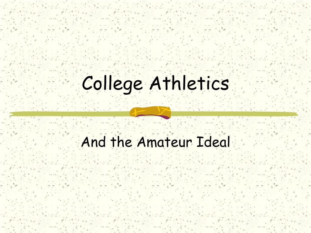 college athletics l.
