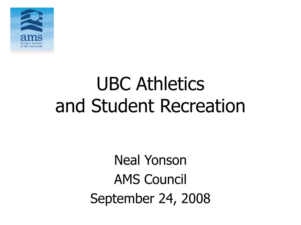 ubc athletics and student recreation l.