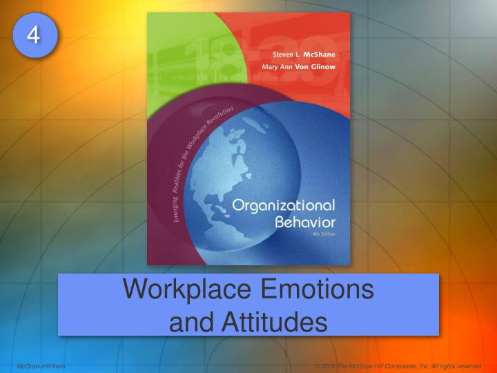 chapter 4 workplace emotions