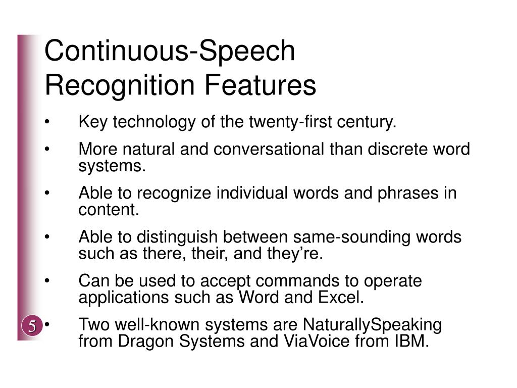 Continuous-Speech