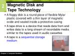 magnetic disk and tape technology25