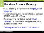 random access memory15