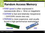 random access memory16