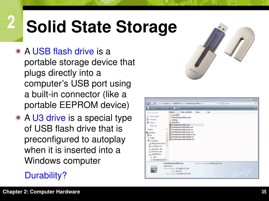 Solid State Storage