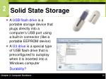 solid state storage30