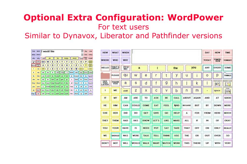 Optional Extra Configuration: WordPower