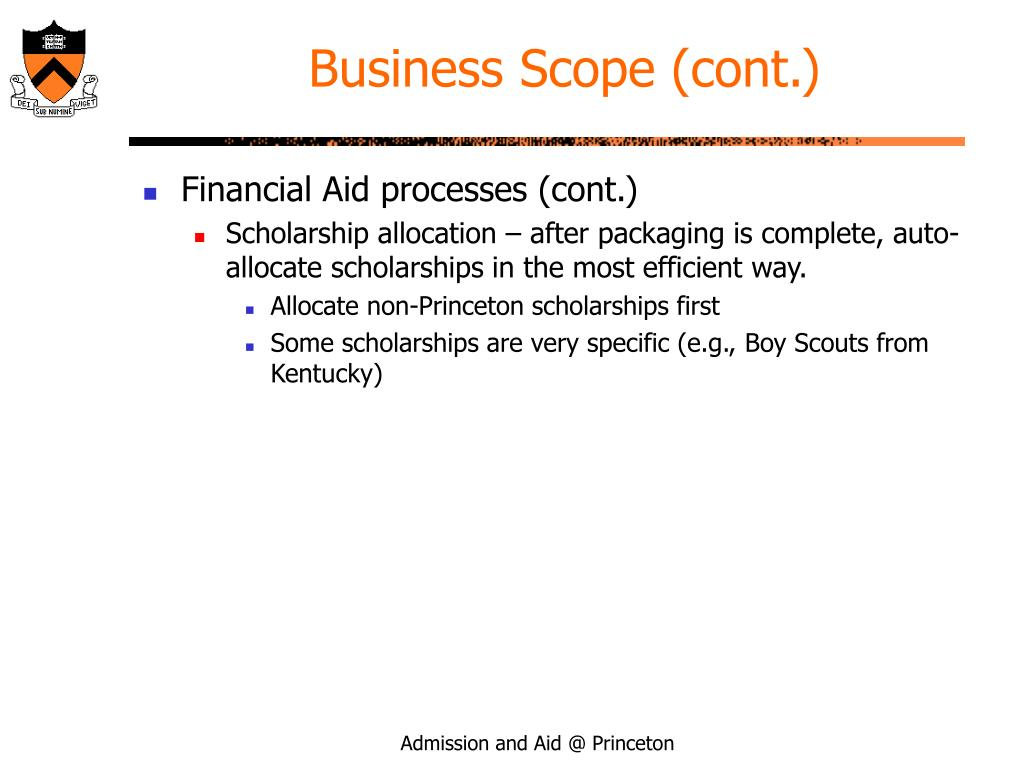 Business Scope (cont.)