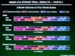 ninds t pa stroke trial results part 2