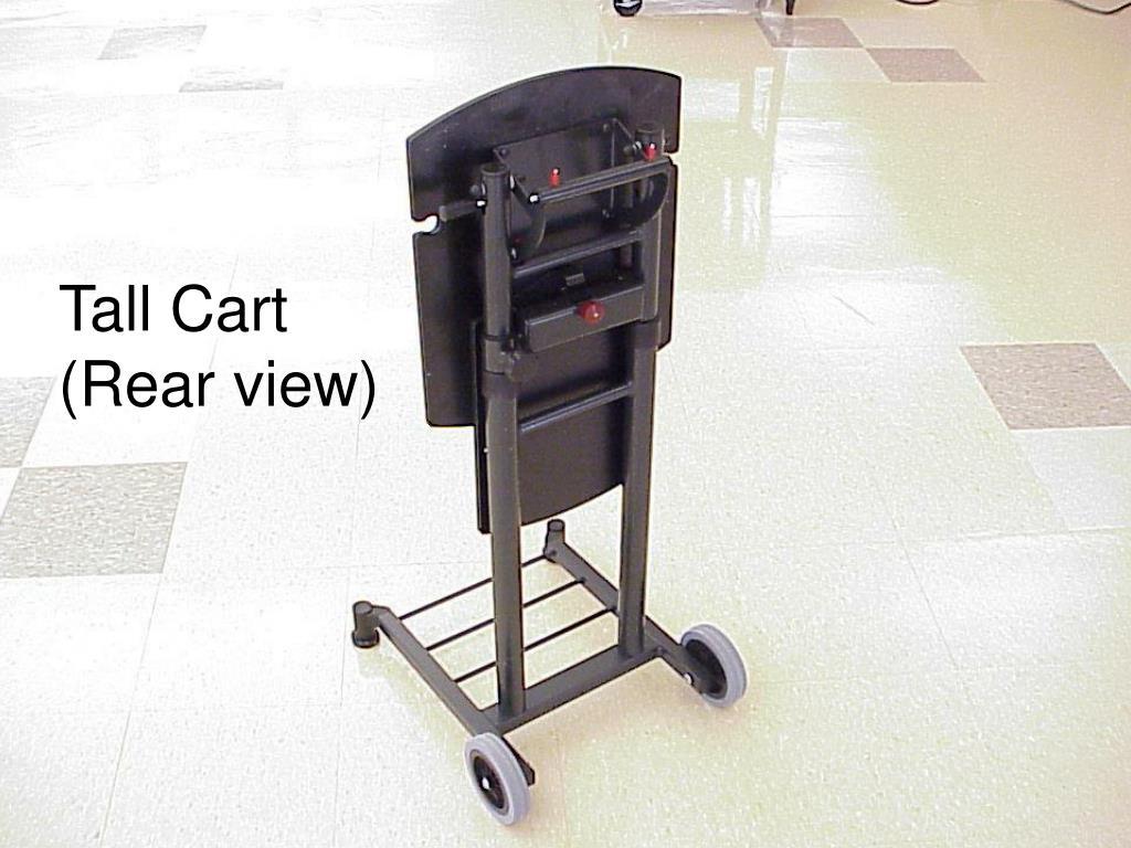 Tall Cart (Rear view)
