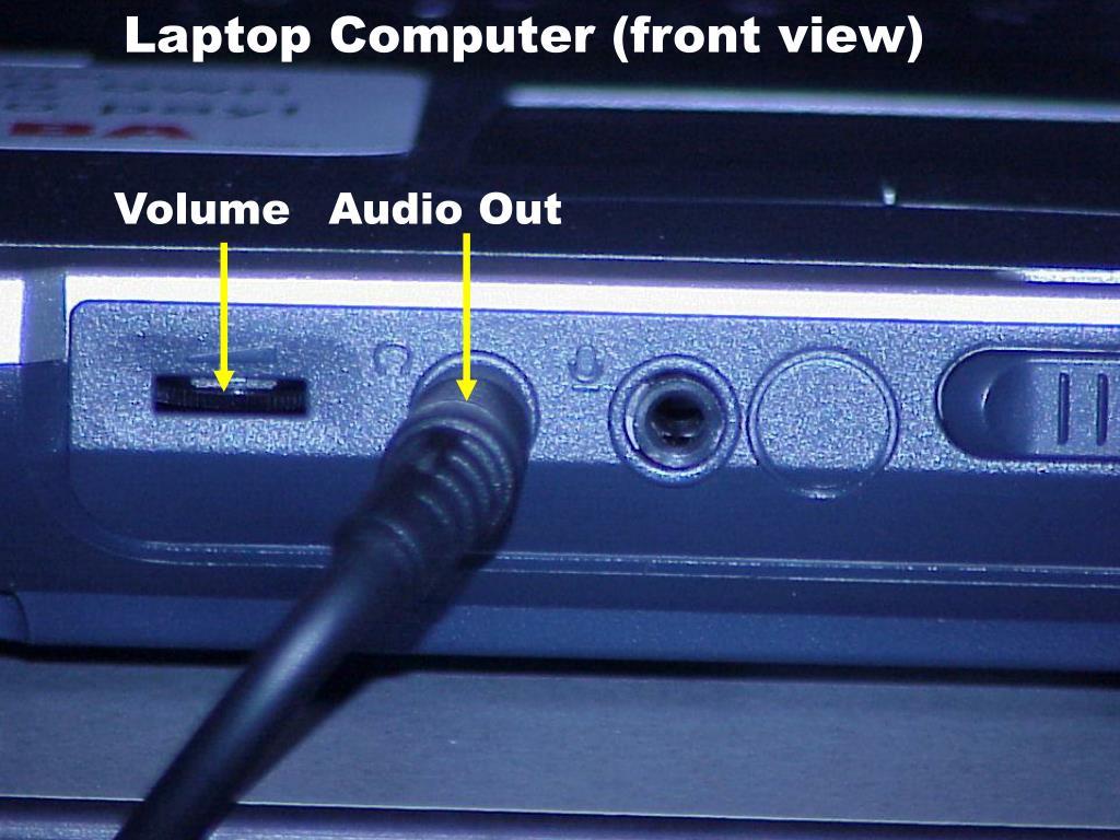 Laptop Computer (front view)