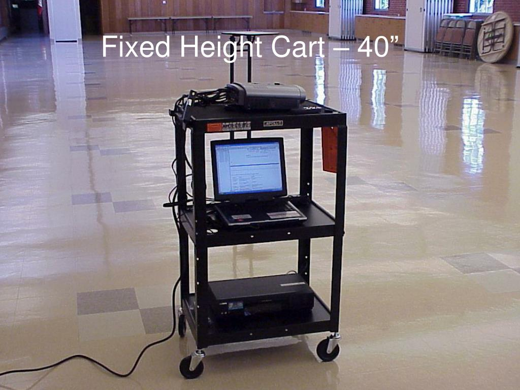 """Fixed Height Cart – 40"""""""