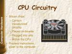 cpu circuitry