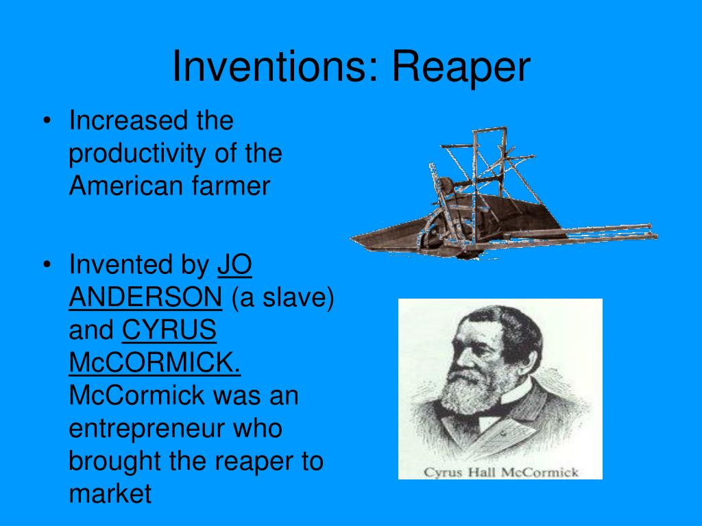Ppt Westward Expansion Inventions That Affected The