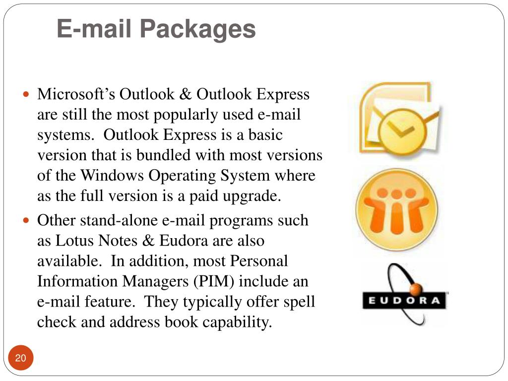 E-mail Packages