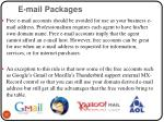 e mail packages22