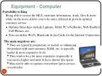 equipment computer