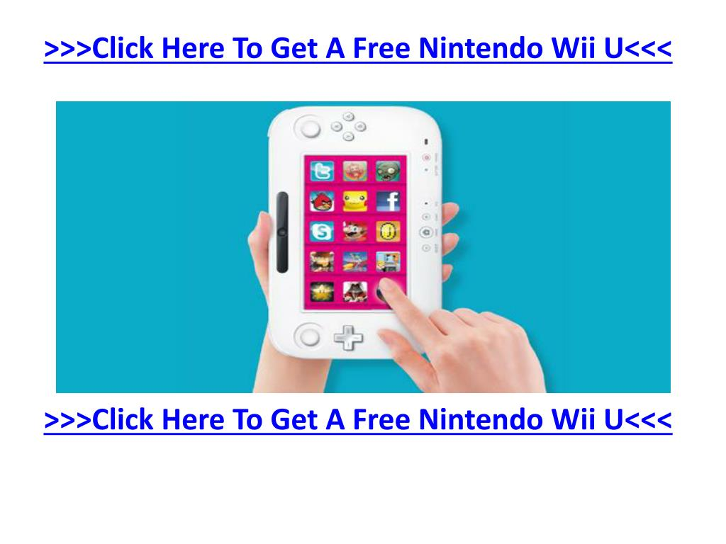 >>>Click Here To Get A Free Nintendo