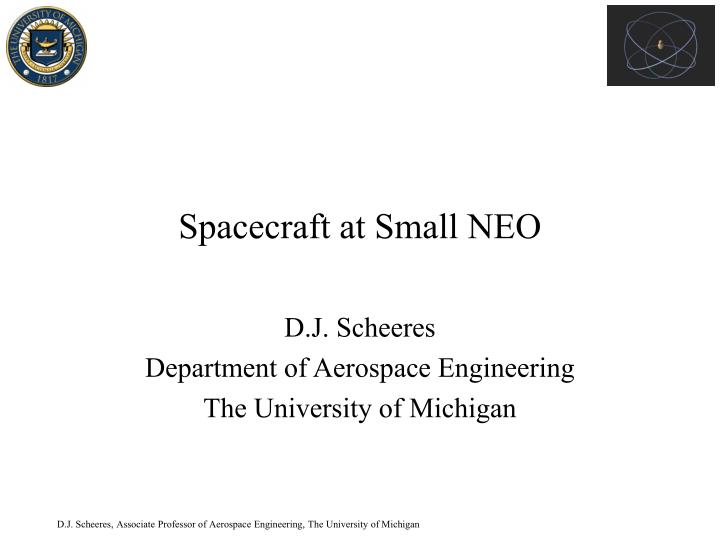 spacecraft at small neo n.