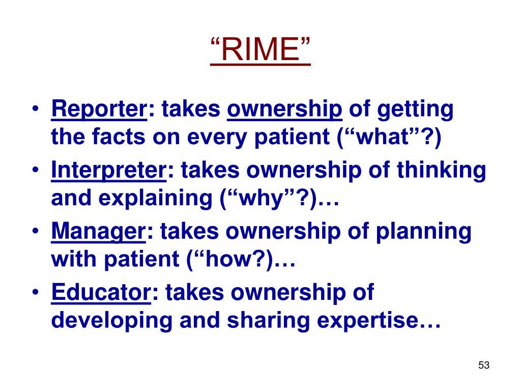 """""""RIME"""""""