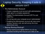 laptop security keeping it safe secure con t6