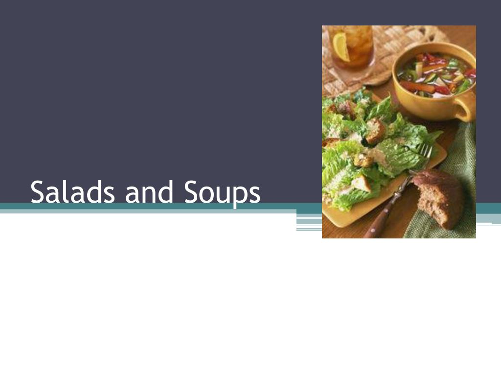 salads and soups l.