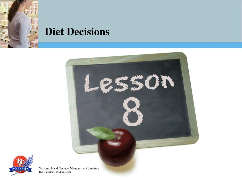 diet decisions l.
