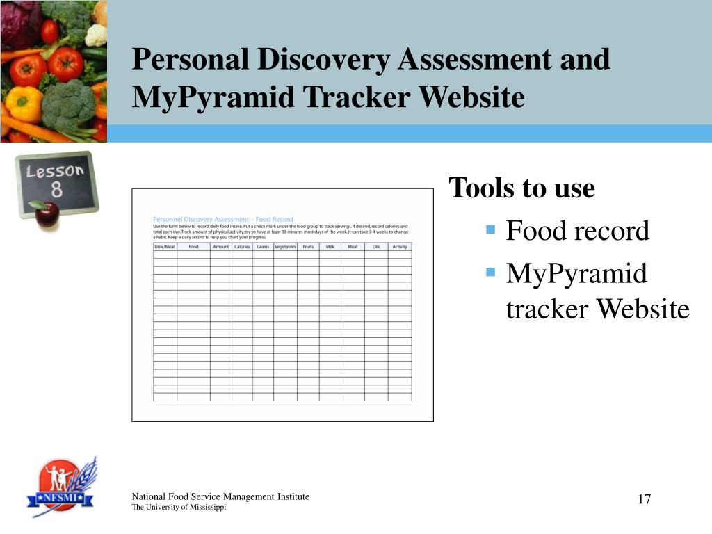 Personal Discovery Assessment and